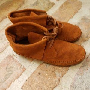 Lucky Brand suede boho desert bootie chukka boot